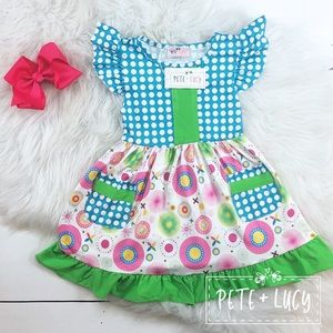 Pete and Lucy dress 3t